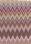 Missoni Home 01 Wallpaper Zig Zag Multicolore 10062 By JV Wallcoverings For Brian Yates